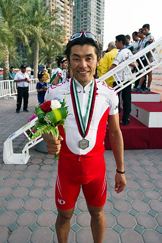 Asia election of men's elite load silver medal Miyazawa