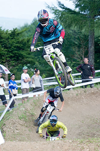 Campionato All Japan MTB 4 Croce uomini