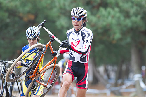 Le 16e All-Japan Cyclocross Championnat tsujiura