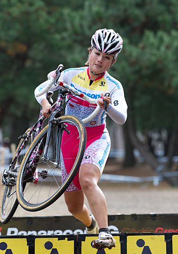 The 16th All-Japan Women's Cyclocross championship Toyooka