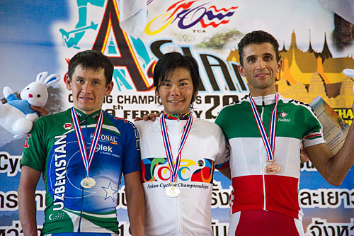 Championnats d'Asie médaille d'or charge Xincheng