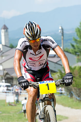 K.Yamamoto, National Champion, XCO