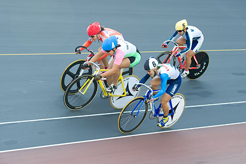 Yamaguchi Nazionale mostra raduno atletico <Keirin femminile>