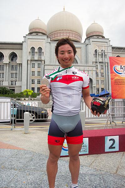 アジア選手権 個人TT U23 銀メダル 山本