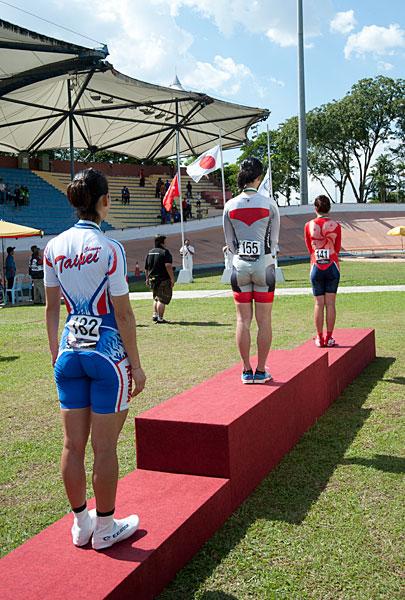 アジア選手権 個人追抜競走 女子エリート優勝 田畑