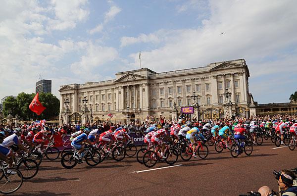ロンドン五輪ロードレーススタート