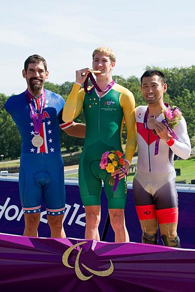 Medaglia di bronzo Londra Paralimpiadi Fujita Sei-ju ha vinto! !