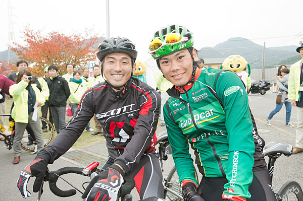 Tour de Ikuchijima 2012 demonstration run (for the end&Metro player)