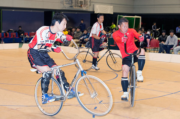 The 43rd All Japan Indoor Championship cycle football