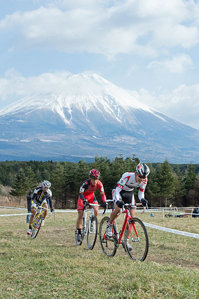 Le 18e All-Japan Cyclocross Elite Hommes