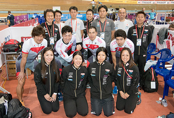 World election track athletes