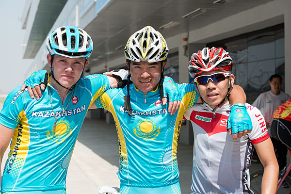 Medaglia Junior Strada campionati asiatici uomo