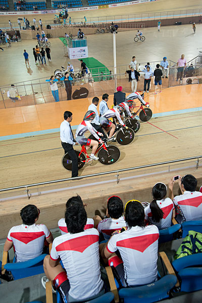Asian Championships men's junior team pursuit gold medal