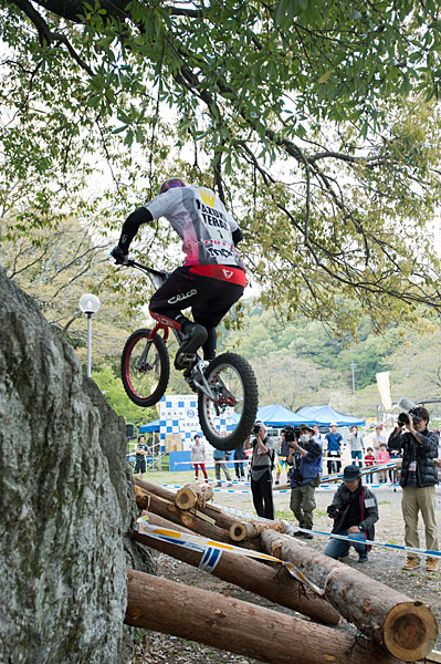 All Japan Trial 20 champion Terai