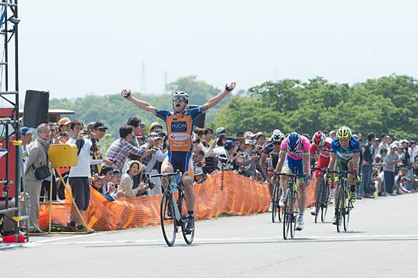 ツアーオブジャパン第5ステージ優勝ネイサン・アール