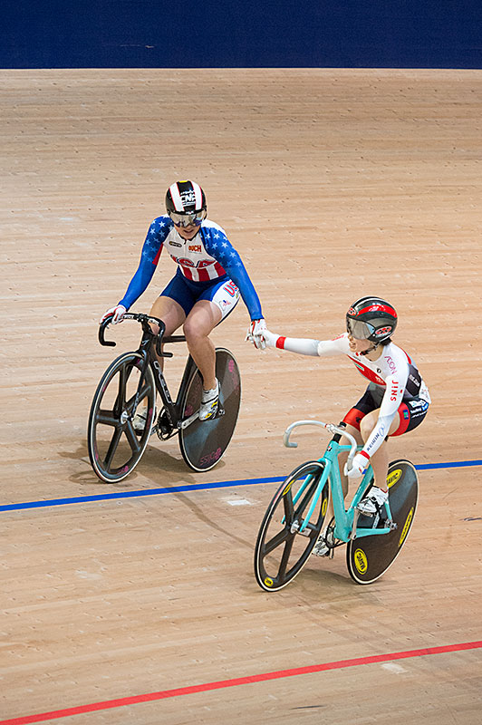 Sprint, Donne Elite, Giappone pista Cup 2