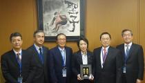 韓国車連会長JCFを表敬訪問