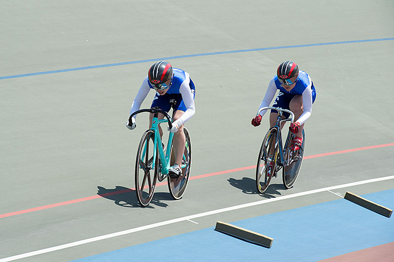 Japan Trucking women's team sprint Japan new record