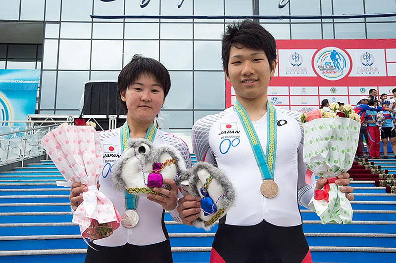 Campionati Asiatici TT individuale abbiamo dato 那 嶺 e MJ Kusaba