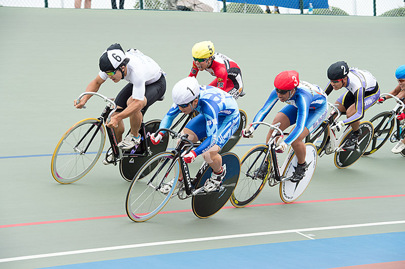 Finale interscolaire Keirin