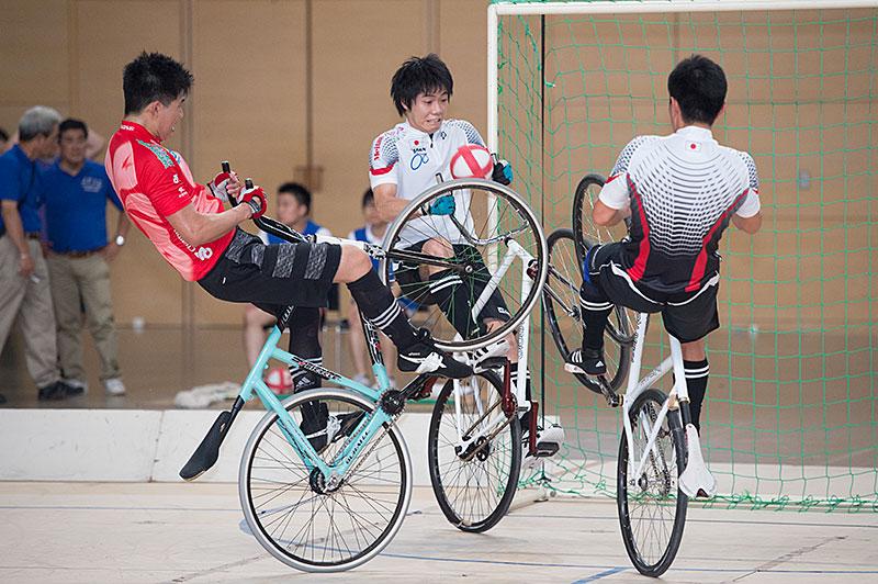 Cycle-Ball, Championnats d'Asie à vélo d'intérieur