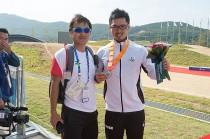 三瓶と鈴木コーチ