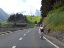 第2ステージ-1 登りで遅れた石上