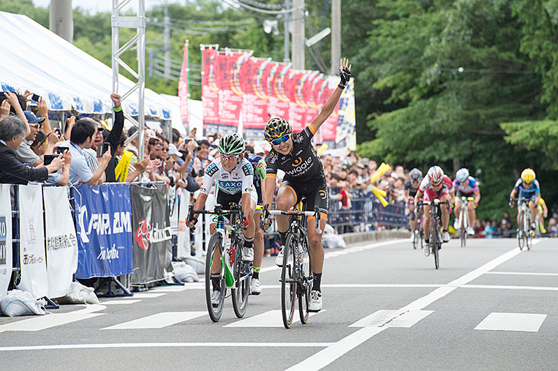 Women's Elite Road Champion Hagiwara