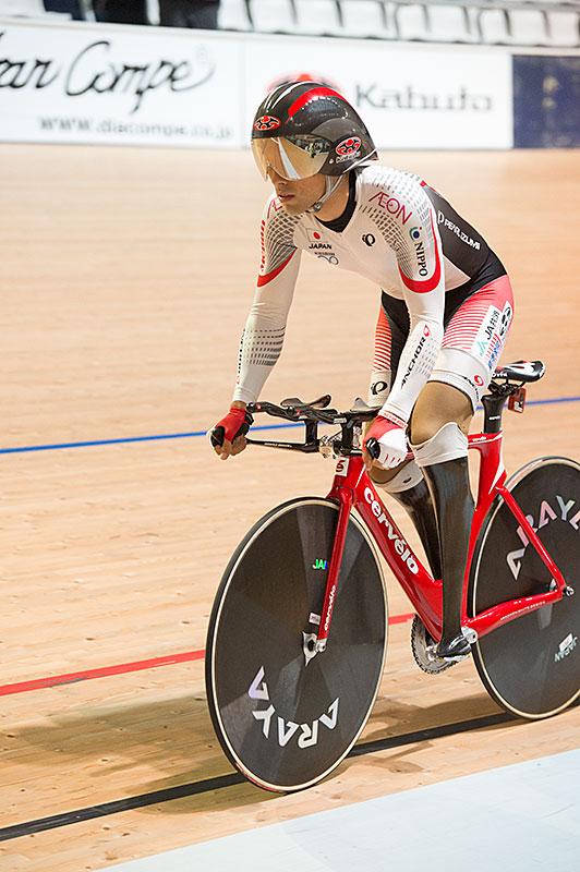 Para ciclismo 3kmIP C1-3 Fujita Giappone nuovo record