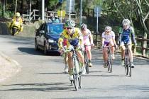 最終周の女子トップ集団