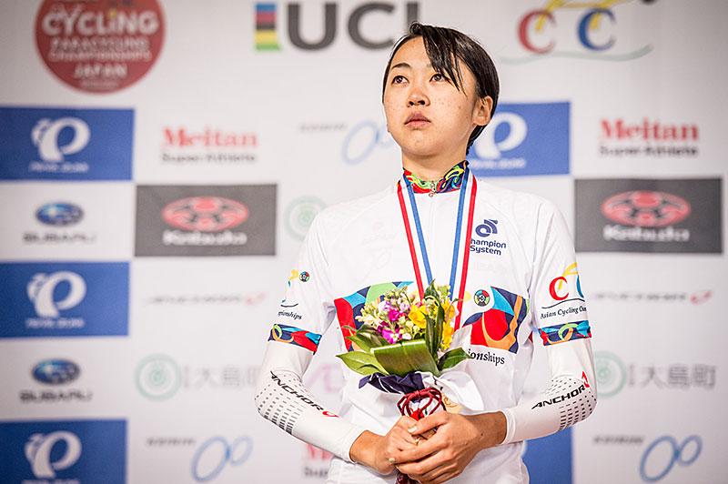 アジア選手権TT 萩原 金メダル!