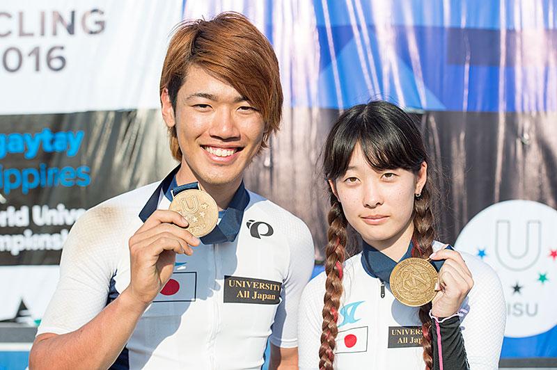 世界大学選手権 XCE 相野田・前田 銅メダル