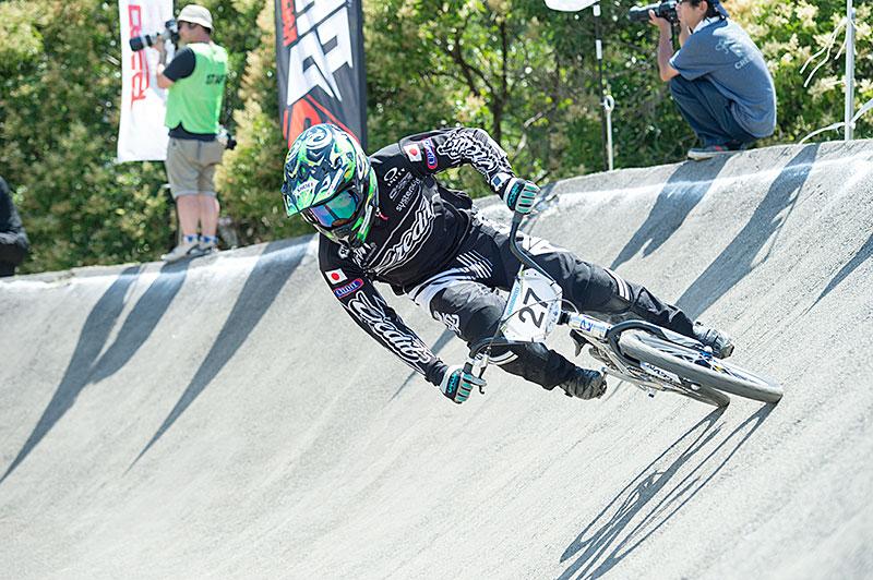 全日本BMXチャンピオンの吉村樹希敢