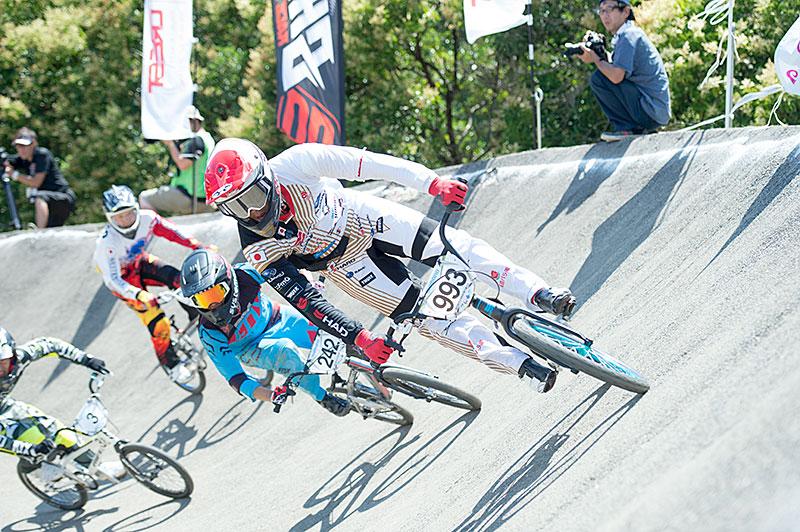 全日本BMX選手権の長迫吉拓