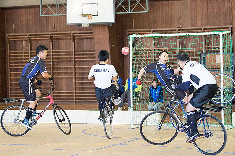 All Japan Indoor Championship cycle soccer