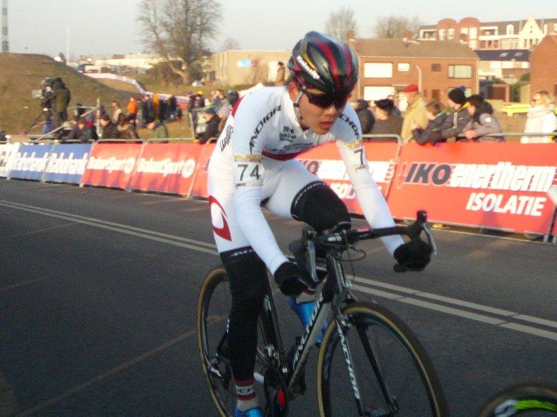 Sawada du cyclo-cross Coupe du Monde de Hoogerheide