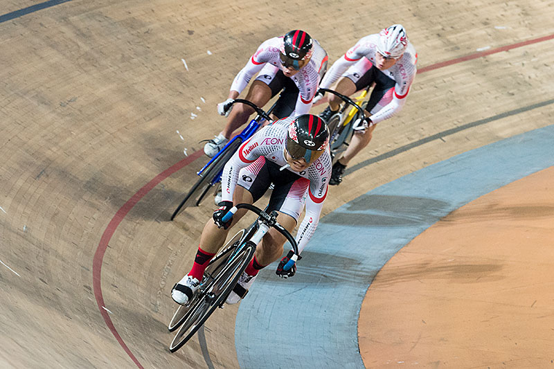 Finale, Team Pursuit_MJ, 2017 Asian Championships
