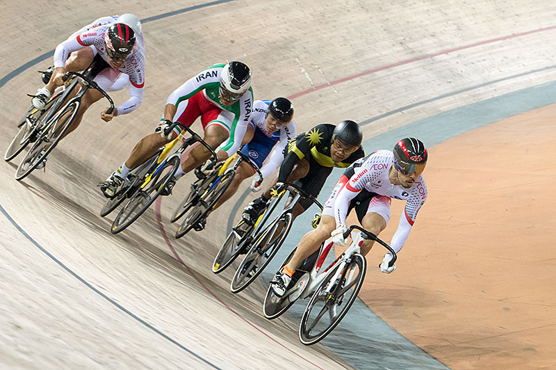 Finale, Keirin, 2017 Asian Championships