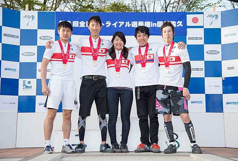 2017全日本トライアル チャンピオン