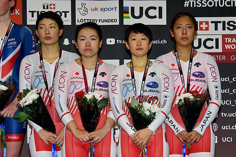 WCで女子チームパーシュート銅メダル! Photo: Takenori Wako