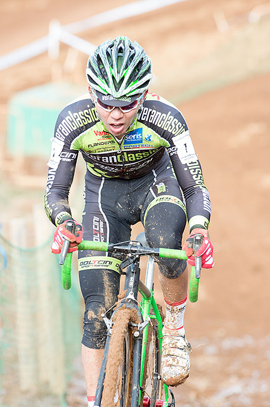 Takenouchi, CX, National Champion